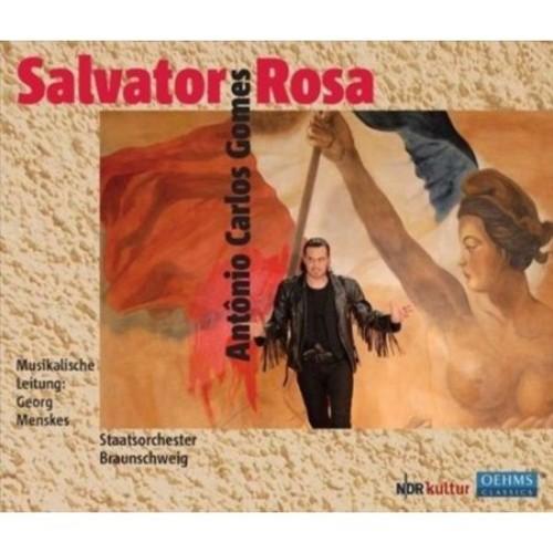 Antnio Carlos Gomes: Salvator Rosa [CD]