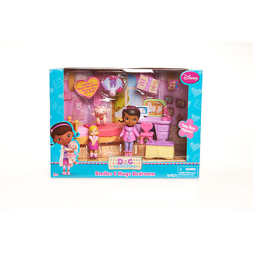 Doc McStuffins Fun And Care Playsets Bedroom