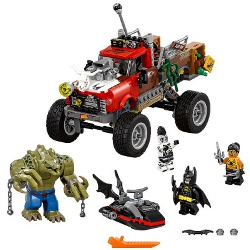 LEGO Batman Movie Killer Croc Tail-Gator 70907