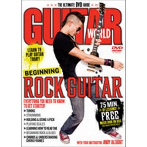 Guitar world:Beginning rock guitar (DVD)