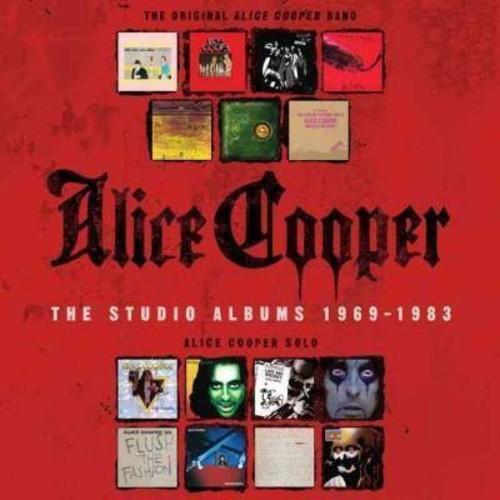 Alice cooper - Studio albums 1969-1983 (CD)