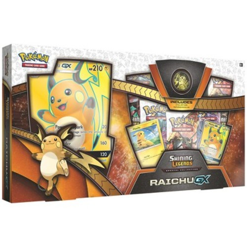 Pokemon Trading Card Game Shining Legends Special Collection Raichu GX Box