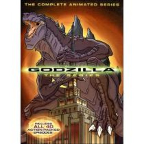 Godzilla: The Complete Animated Series [4 Discs] [DVD]