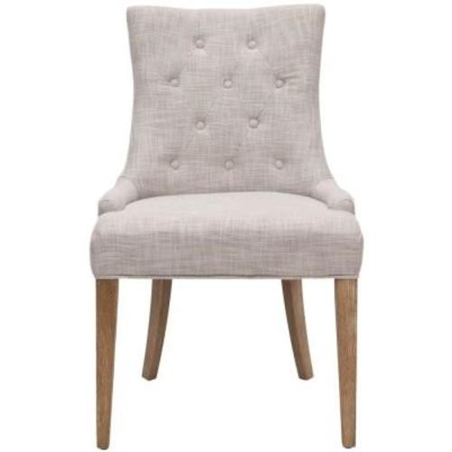 Safavieh Becca Grey Polyester Blend Dining Chair