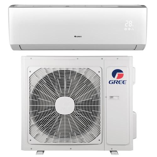 N LIVO 12,000 BTU 1 Ton Ductless Mini Split Air Conditioner with Inverter, Heat, Remote 115V/60Hz