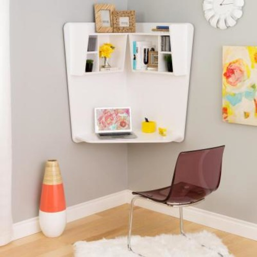 Prepac White Laminate Desk