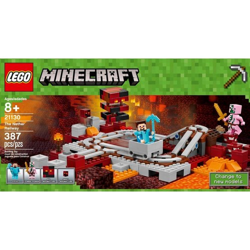 LEGO - Minecraft The Nether Railway