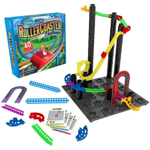 Roller Coaster Challenge Board Game