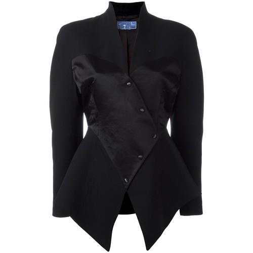Thierry Mugler Vintage satin corset blazer