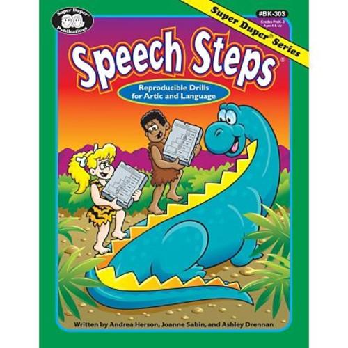 Super Duper Speech Steps Book, Grades PreK-3