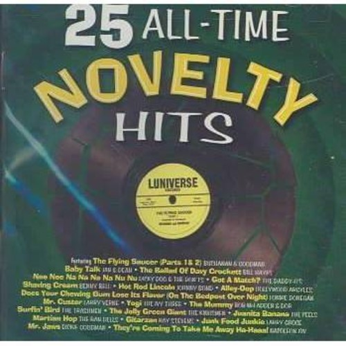 25 All-Time Novelty Hits [CD]