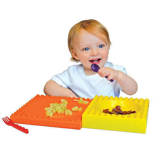 Placematix 3 Piece Kids Mealtime Set