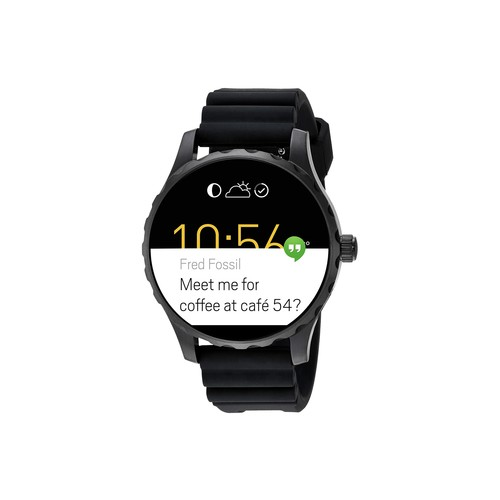 Fossil Q Q Marshal Digital Touchscreen Smartwatch - FTW2107 Black