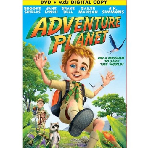 Adventure Planet (DVD + VUDU Digital Copy) (Walmart Exclusive) (With INSTAWATCH) (Widescreen)