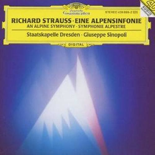 Richard Strauss: Eine Alpensinfonie [CD]