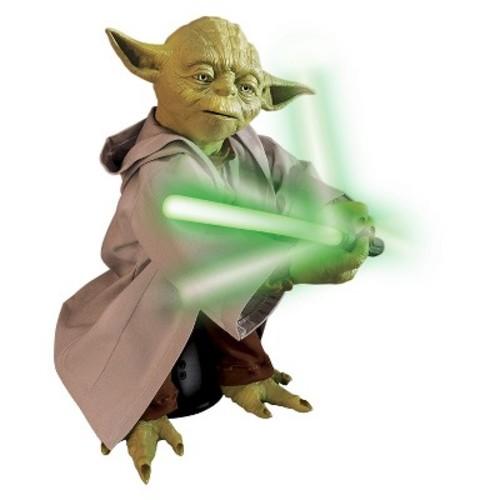 Spin Master Star Wars Legendary Yoda with Lightsaber
