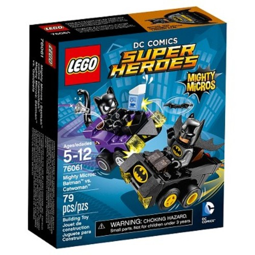 LEGO Super Heroes DC Comics Mighty Micros: Batman Vs. Catwoman (76061)