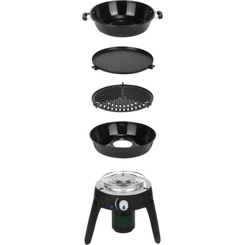 Cadac Safari Chef 2 Portable Propane Gas Grill in Black