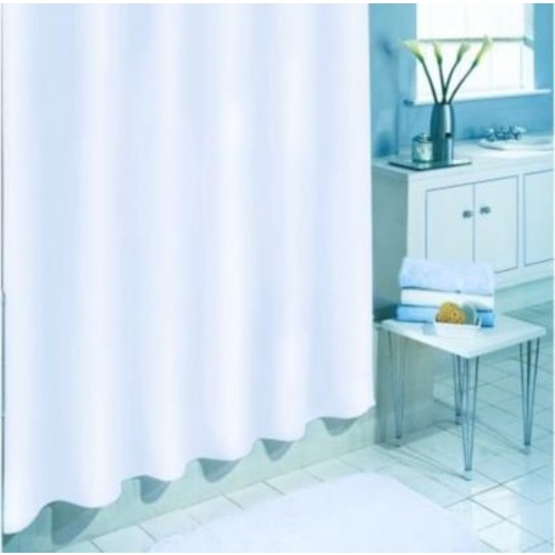 Wilton Shower Liner; White