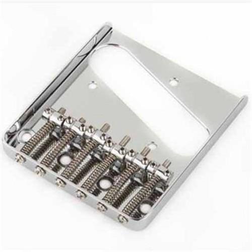 Fender Bridge Assembly for Telecaster Thinline Guitars (2007-Present), Chrome 0073889000