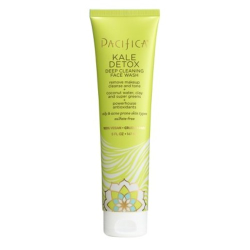 Pacifica Kale Detox Deep Cleaning Face Wash - 5 Fl Oz