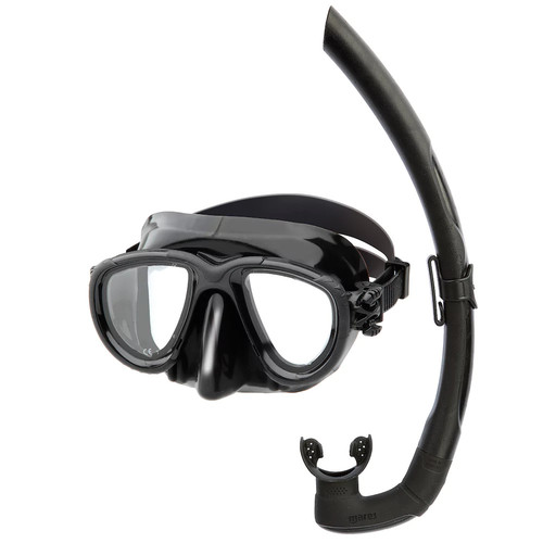 Head Stealth Mask and Snorkel Combo, Black