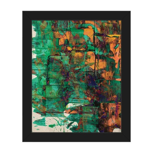 Restless Minds Framed Canvas Print Wall Art
