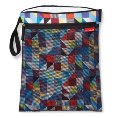 Skip Hop Grab & Go Wet/Dry Bag in Prism Print