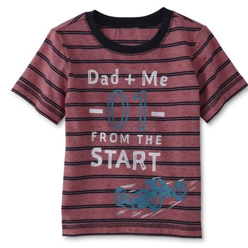 WonderKids Infant & Toddler Boys' Graphic T-Shirt - Dad u0026 Me [Age : Infant]