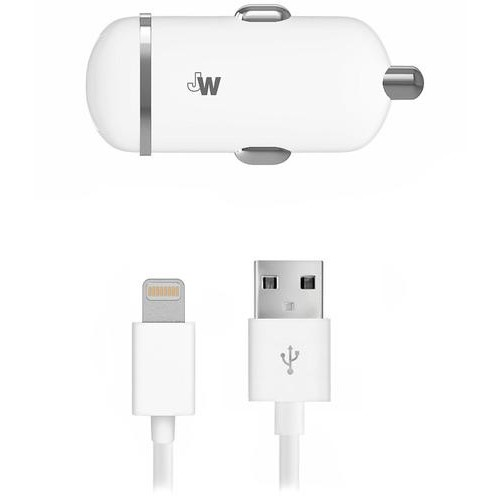 Just Wireless - Vehicle Charger - White