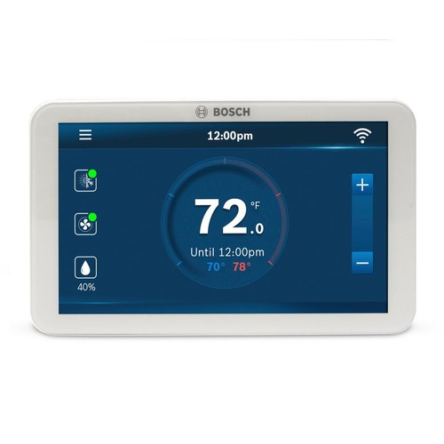 Bosch 7-Day Wi-Fi Internet 4-Stage Programmable Color Touchscreen Thermostat with Weather Access