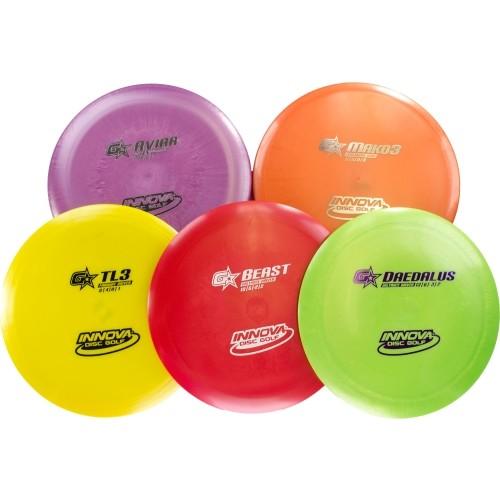 Innova Disc Golf GStar 5-Disc Set