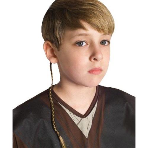 Star Wars Jedi Braid Halloween Costume Accessory