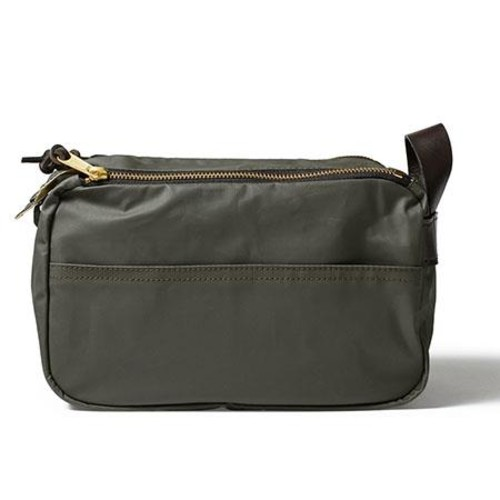 Filson Vachetta Cotton Travel Kit, Otter Green 70082-OT