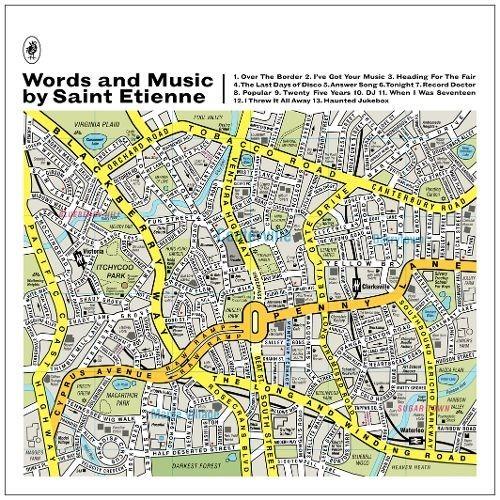 Words and Music by Saint Etienne [LP] - VINYL