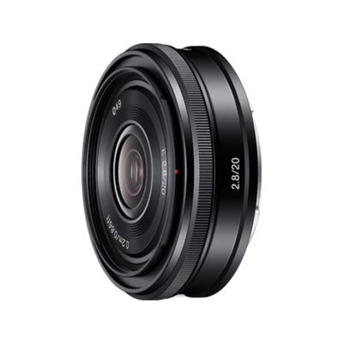 Sony SEL20F28 20mm f/2.8 Wide-angle prime lens for APS-C sensor Sony E-mount cameras
