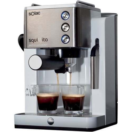Solac - Espresso Maker/Coffeemaker - Stainless steel