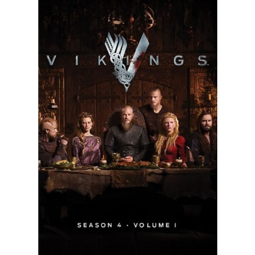 Vikings Season 4 Volume 1 (DVD)