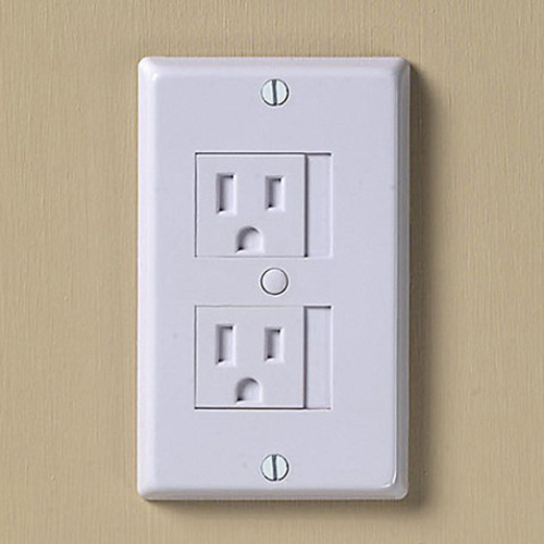 KidCo Universal White Outlet Cover (Pack of 3)