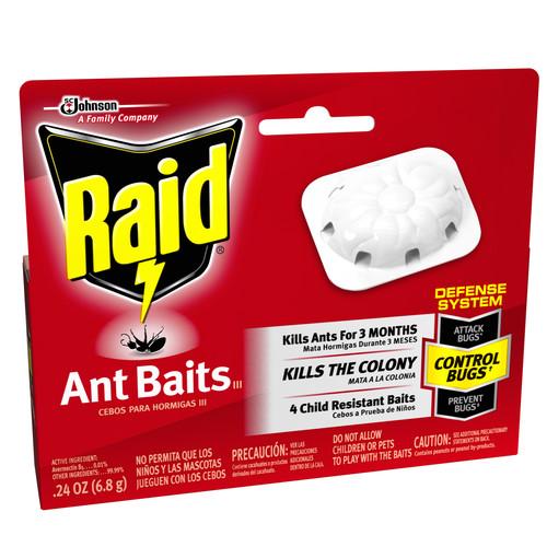 S C JOHNSON WAX 71478 Raid Ant Bait Sprayer (4 Pack)