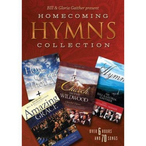 Bill & Gloria Gaither Present: Homecoming Hymns Collection (4 Discs) (dvd_video)