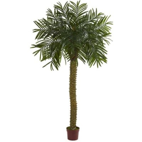 Nearly Natural 7-Inch Prickly Palm Artificial Tree in Green