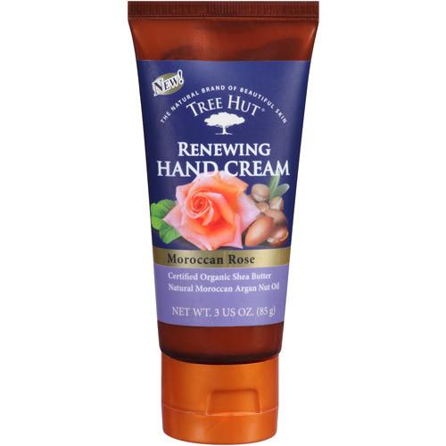 Tree Hut Moroccan Rose Renewing Hand Cream, 3 oz