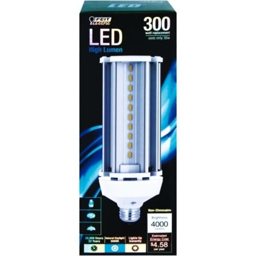 FEIT Electric 38 watts 4000 lumens 5000 K Medium (E26) Daylight 300 watts equivalency LED Yard Li(C4