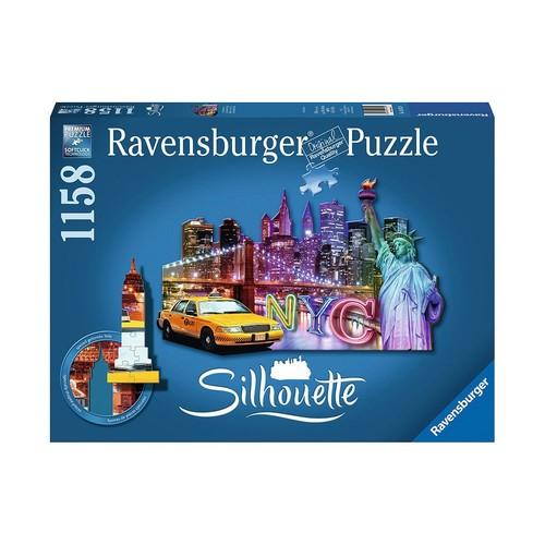Ravensburger Shaped Jigsaw Puzzle 1158-Piece - NYC Skyline