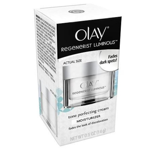 Olay Regenerist Luminous Tone Perfecting Cream & Face Moisturizer, Trial Size