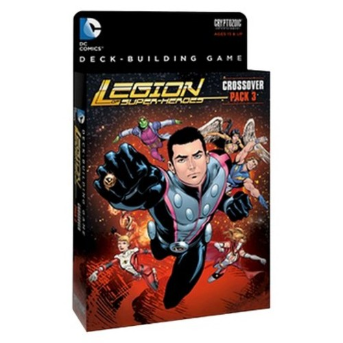 DC Comics Deck-Building Card Game Legion of Superheroes Crossover Pack 3