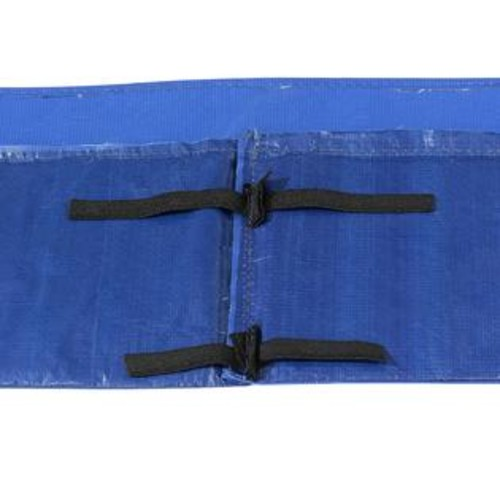 Upper Bounce Super Trampoline Replacement Safety Pad (Spring Cover) Fits for 8 X 14 FT Rectangular Frames - Blue