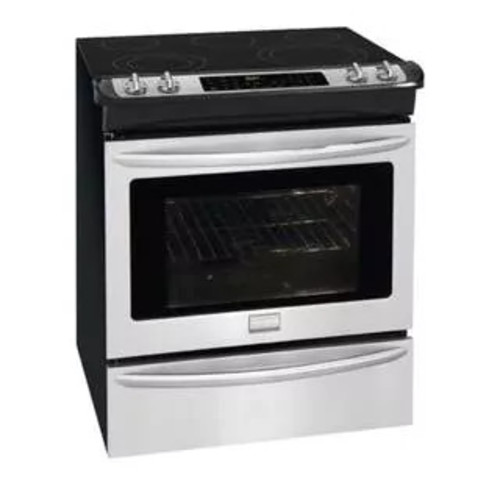 Frigidaire Gallery 30'' Slide-In Electric Range - Stainless Steel