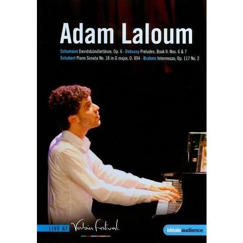 Adam Laloum: Schumann/Debussy/Schubert/Brahms: Live at Verbier Festival [DVD] [2010]